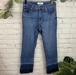 Pistola Ombre Cropped Straight Leg Jeans